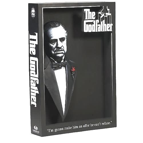 - MCFARLANE THE GODFATHER 3D MOVIE POSTER FIGURE