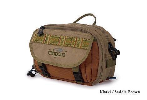 (FishPond Blue River Chest/Lumbar Pack - Khaki/Sage Green)