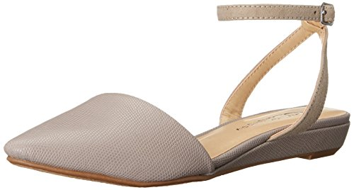Chinese Laundry Womens Sweet (CL by Chinese Laundry Women's Sweet Pea Lizard Ballet Flat, Taupe, 7.5 M US)