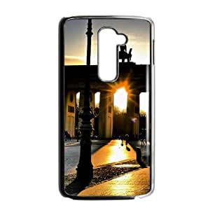 LG G2 Cell Phone Case Covers Black Berlin City Phone cover L7776838