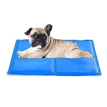 Baiwka Cama De Enfriamiento Impermeable del Perro del Rasguño,Colchoneta para Enfriar Perros para Dormir En El Verano Cama Grande De Hielo para ...