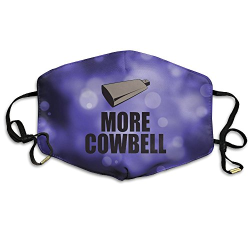 More Cowbell Reusable Anti Dust Face Mouth Cover Mask,Warm Windproof Mask