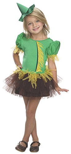 Rubies Wizard of Oz 75th Anniversary Collection Scarecrow Tutu Dress Costume, Child Small