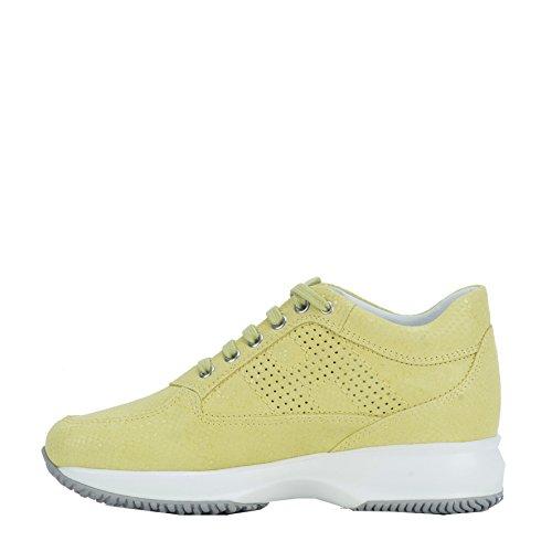 Hogan Sneakers Donna HXW00N00E30BTBG007 Camoscio Giallo