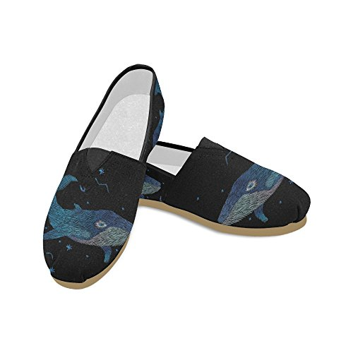 InterestPrint elephant abstract Loafers Casual Shoes for Men Women Whale wua4IrD