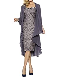 Amazon.com: Grey - Mother of the Bride / Wedding Party: Clothing ...