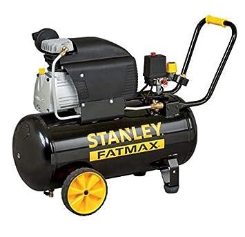 Stanley - Compresor de aire Lubrifié 50L 2,5Hp 1,8 kW 10 bar: Amazon.es: Bricolaje y herramientas