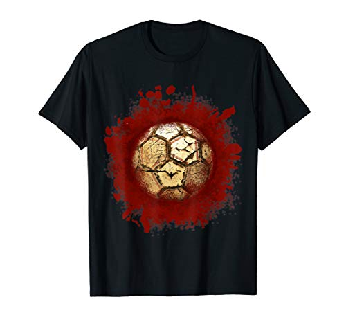 Zombie Soccer Blood Funny Scary Player Halloween Costume ()