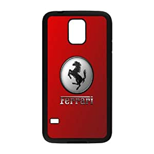 Custom Cover Case Fashion Ferrari Time For Samsung Galaxy S5 SXSWM947827
