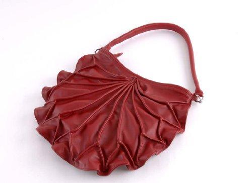 bylin , Sac pour femme à porter à l'épaule Rouge Rouge