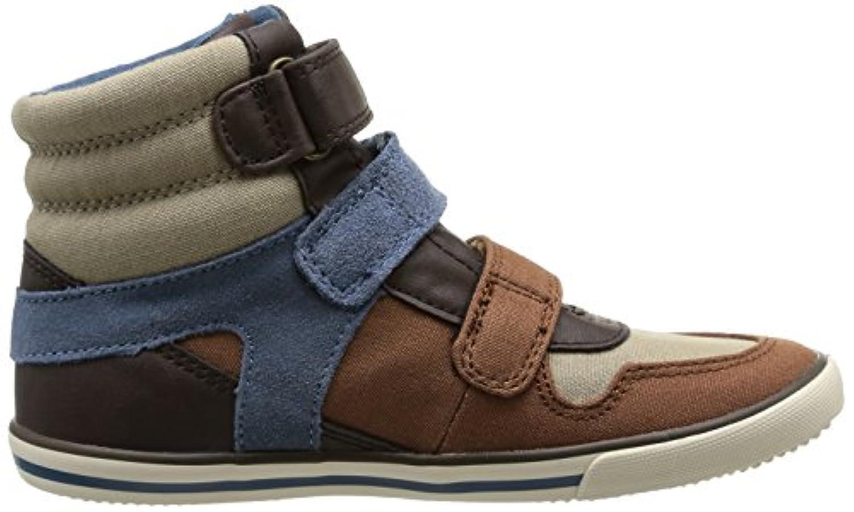 Start Rite Hawk, Boys Basketball Shoes, Brown (Brown Canvas), 1 UK (33 EU)