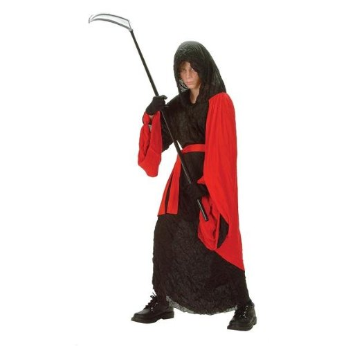 RG Costumes Phantom Warrior Robe, Small, Black/Red