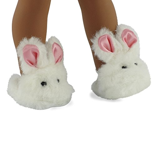 18 Inch Doll Clothes/clothing Bunny Slippers Fits American Girl Dolls