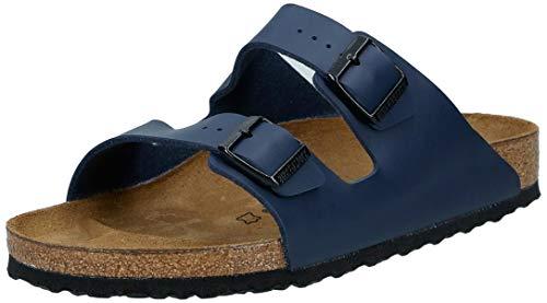 Birkenstock Arizona, Sandalen für Erwachsene, Unisex, Blau - blau - Größe: 45 EU