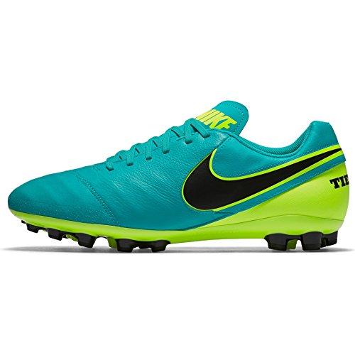 Hombre Nike JADE VOLT AG de Leather BLACK Fútbol Tiempo II R 307 Genio CLEAR Botas gwgzRqHx