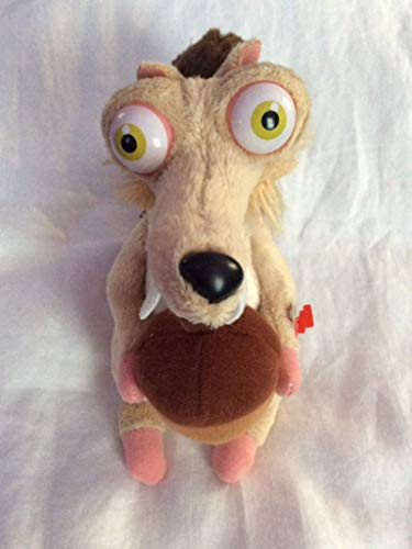 TY Beanie Baby   SCRAT the Squirrel   Ice Age