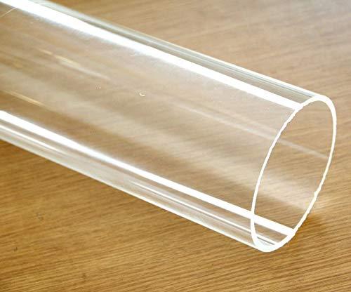 Clear acrylic Plastic Plexiglass Pipe tube 4