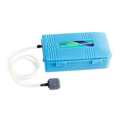 LANDUM Batería portátil de Aire Batería de Aire alimentada con Bomba de oxígeno de Reserva para