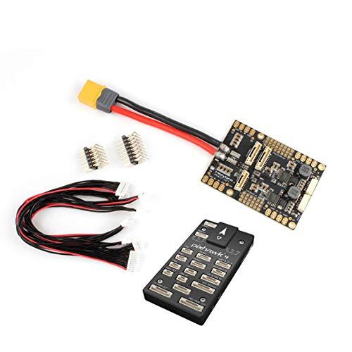 MqbY Holybro Pixhawk 4 Flight Controller 32 Bit ARM PM07 Power Management 5V UBEC Output Sensor Module for RC Racing Drone ()