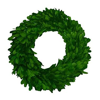 Mills Floral Company Boxwood Round Wreath, Single Side 16