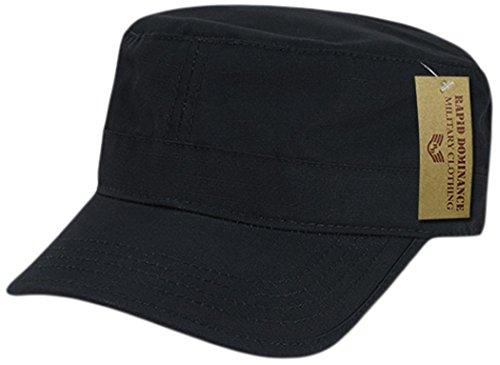 Rapiddominance Ripstop BDU Cap, Black