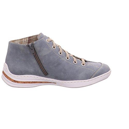 Sneaker Rieker Damen M3539 Blu / Jeans