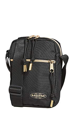 Eastpak Men's The One Shoulder Bag, Black/Gold, One Size