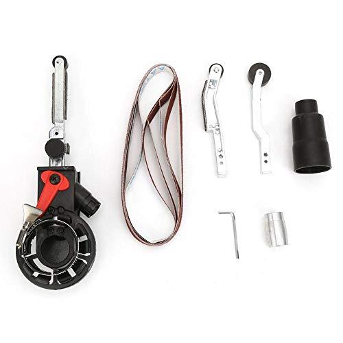 Ladieshow Mini adattatore per testina levigatrice a nastro per smerigliatrice angolare elettrica M10