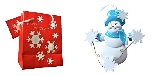 Personalized Single (Single Mom Family Personalized Christmas Ornament - FREE Customize & Gift Bag (3)
