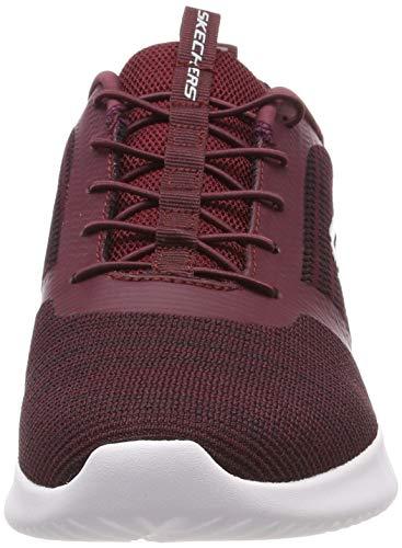 Baskets Bounder Skechers Rouge burgundy Burgundy Homme fY01q