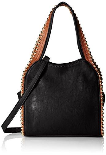 BIG BUDDHA Glorie Satchel Bag, Black, One