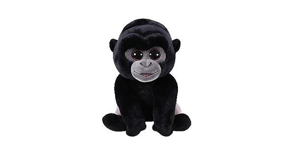 Amazon.com: TY Beanie Babies Bo – Dorso plateado Gorilla REG ...