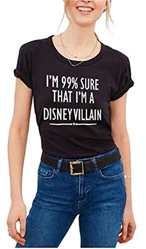 Women's Graphic T Shirt Junior Tops Teen Girls Cute Tees Black S