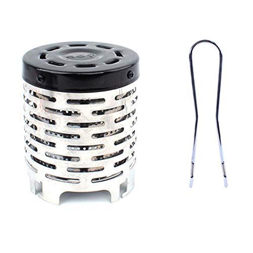 HANTERE - Calentador portátil para Estufa de Gas al Aire última intervensión (Acero Inoxidable)
