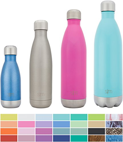 Simple Modern Stainless Steel Vacuum Insulated Double-Walled Wave Bottle, 17oz - Simple (Golfing Mug)