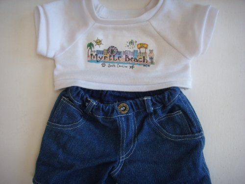 Myrtle Beach Sc Doll Clothing   T Shirt   Denim Pants For 15
