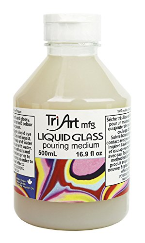Tri-Art Liquid Glass Pouring Medium 500mL