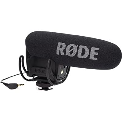 Rode VMPR VideoMic Pro R with Rycote Lyre Shockmount With Rode DeadCat VMPR and 9V Rechargeable NiMH Battery from Rode