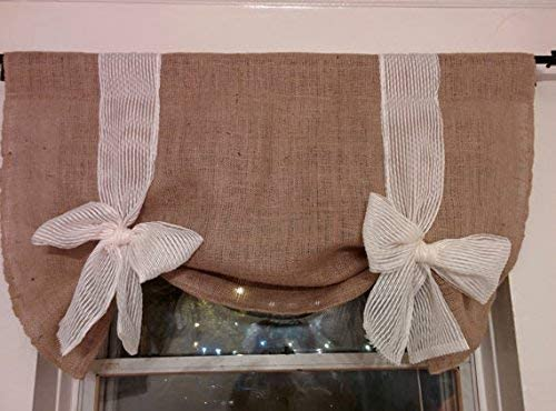 KM Curtains Tie Up custom order curtains