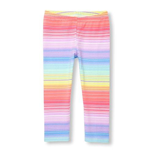 Kids Leggings Capri (The Children's Place Big Girls' Fashion Leggings, Prairieroseneon 00906, L (10/12))