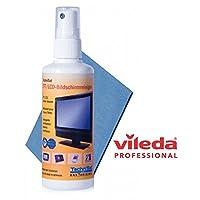 TechniSat - Set de limpieza para pantalla LCD (líquido limpiador, gamuza Vileda)
