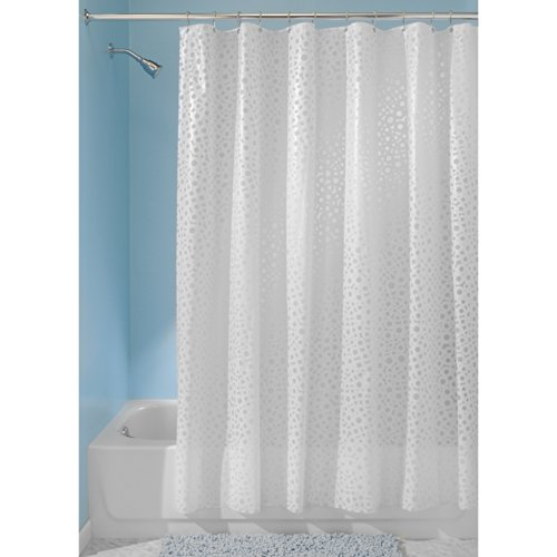 InterDesign Circo PVC-Free PEVA Shower Curtain, 72