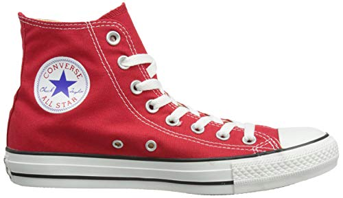 Adulto Altas Star Hi Chuck Converse Rojo Taylor red Unisex All Core Zapatillas nCwA7qzTx