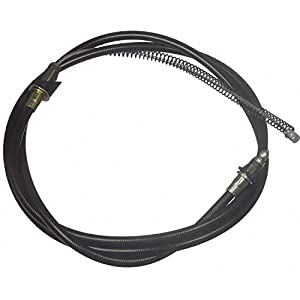 Wagner BC76575 Premium Parking Brake Cable Rear