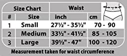 TOROS-GROUP Neoprene Waist Trimmer Belt Ab Trainer - Belly Fat Burning Sauna - Medium, Waist 33½\