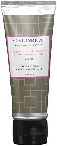 Caldrea Hand Balm, Rosewater Driftwood, 3 Ounce