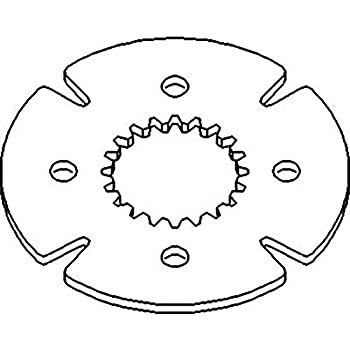 Amazon Com Ar42125 New 12 Transmission Clutch Disc Made To Fit