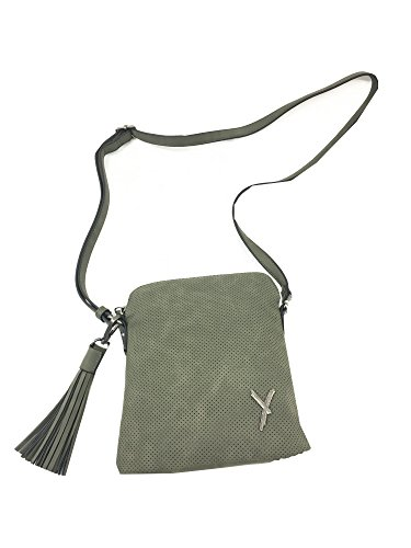 Blu Borsa a Suri Frey Verde donna Size tracolla One HT1nqPwxY