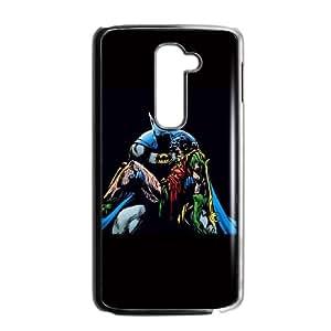 Batman Holding Robin LG G2 Cell Phone Case Black&Phone Accessory STC_992580