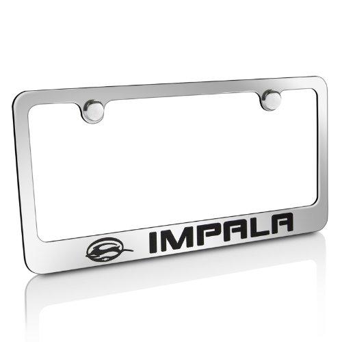 Chevy Impala Chrome Brass License Plate Frame